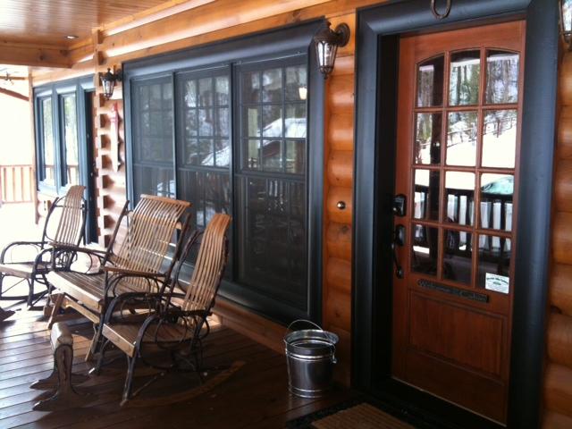 The Wildcat Trail - 2 Story Custom Log Home Plan on